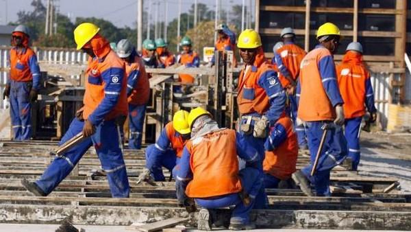emprego construção civil