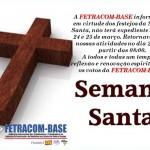 RECESSO SEMANA SANTA 2016